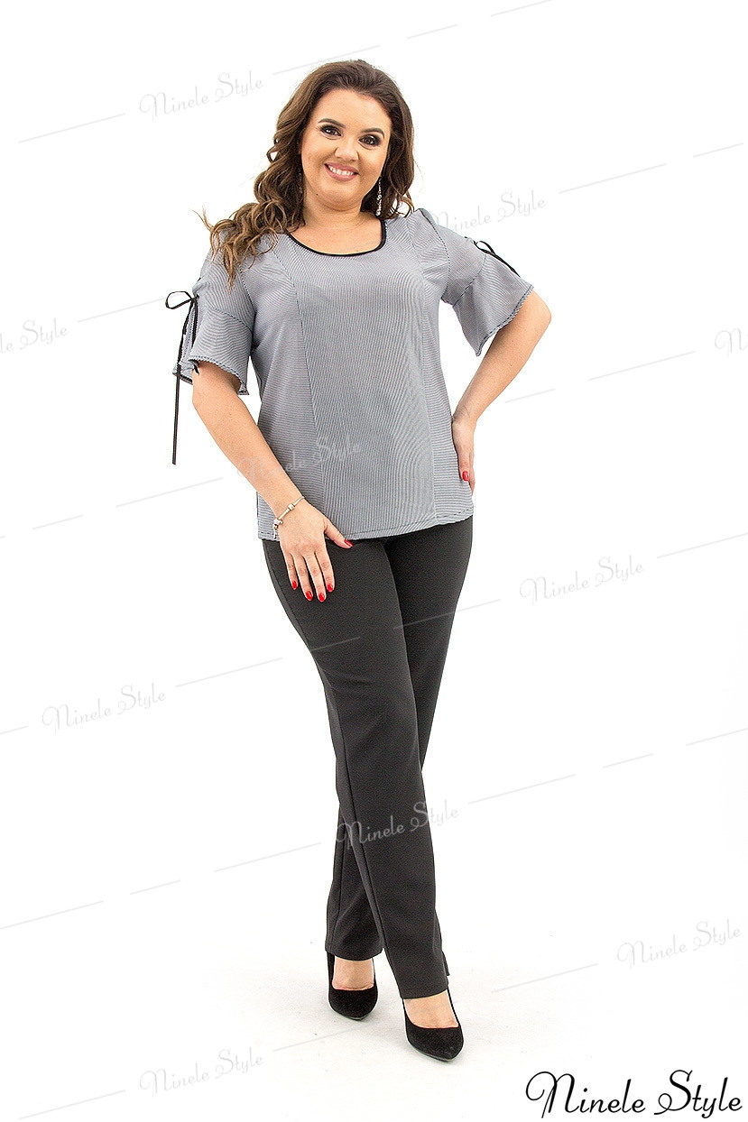 Романтическая блузка женская в полоску  365 54