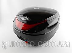 Кофр для мотоцикла (багажник) HF-805 черный глянец