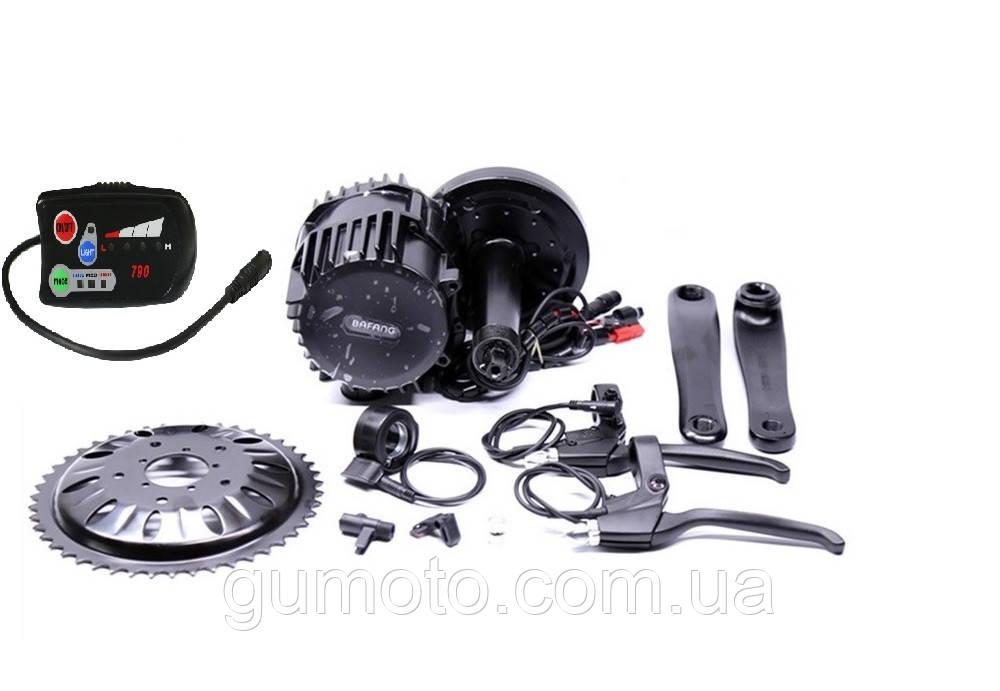 Электромотор Bafang BBS02 48V 1000W дисплей C 790 электрический комплект для велосипедов