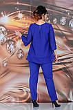 Женский брючный костюм Fashon 48-54 рр. Батал, фото 6