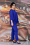 Женский брючный костюм Fashon 48-54 рр. Батал, фото 9
