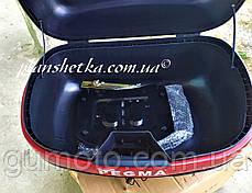 Мото кофр черный на два шлема Pegma (Корея), фото 3