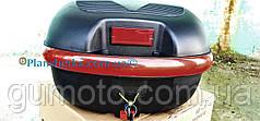 Кофр для мотоцикла багажник HF-852 черный мат