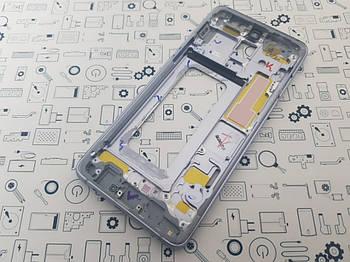 Рамка дисплея Samsung A8 Plus 2018 (A730F) Сервисный оригинал с разборки