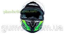 Шлем для мотоцикла Hel-Met 122 Green (зелёный), фото 2