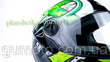Шлем для мотоцикла Hel-Met 122 Green (зелёный), фото 3