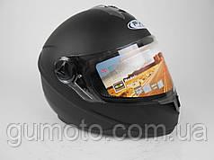 Шлем для мотоциклов Hel-Met 122 Blue черный мат