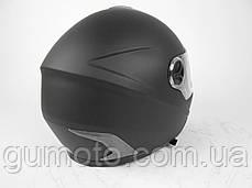 Шлем для мотоциклов Hel-Met 122 Blue черный мат, фото 2