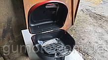 Кофр для мотоцикла багажник черный матовый 26 л на 1 шлем, фото 3