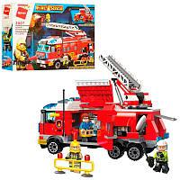 """Детский конструктор Пожарная машина """"Qman"""" 2807"""