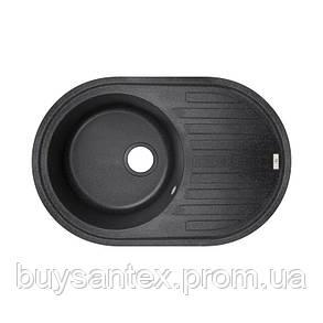 Кухонная мойка GF 780x500/200 BLA-03 (GFBLA03780500200), фото 2