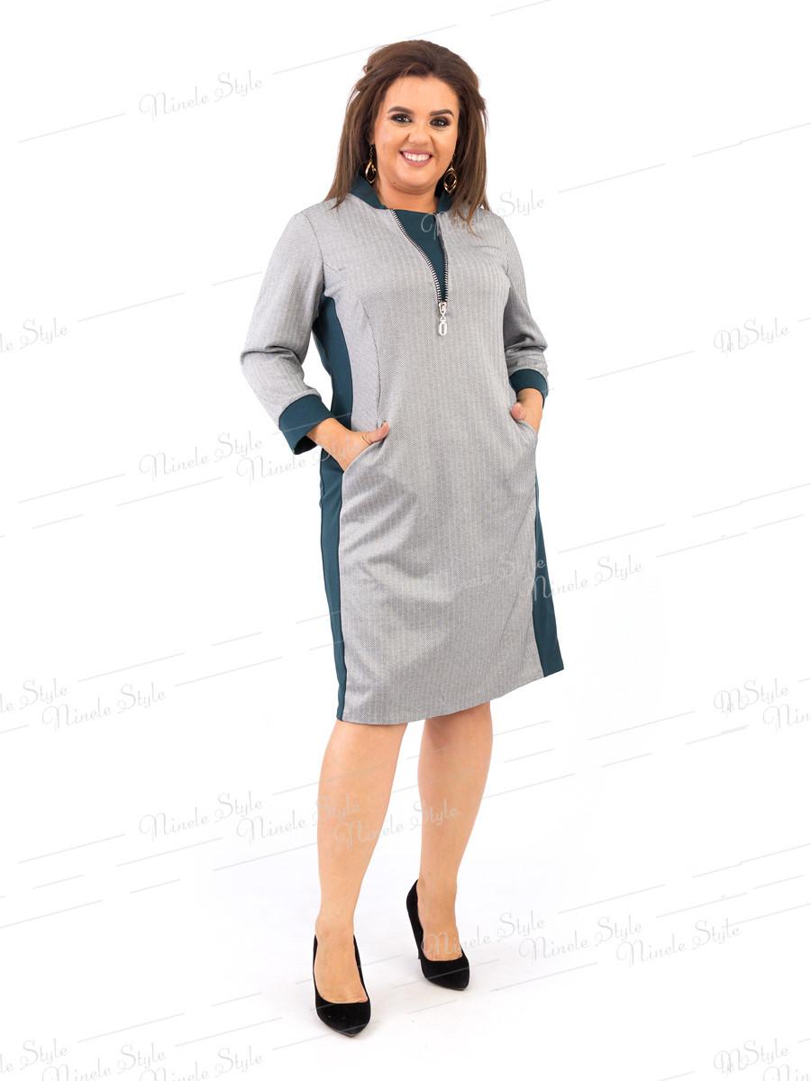 Классическое женское платье на каждый день 382 54