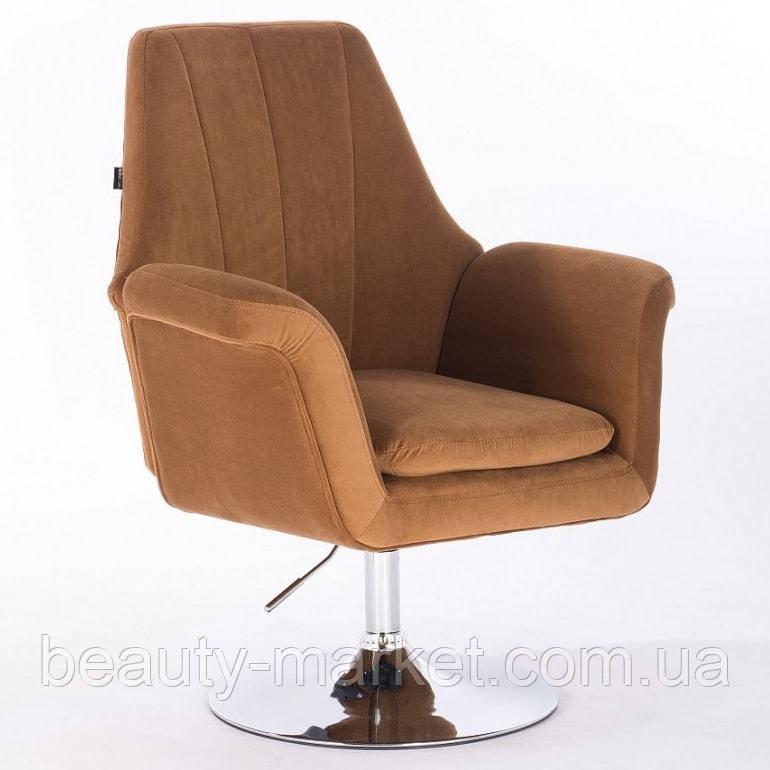 Кресло клиента Boston velor
