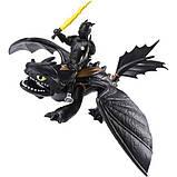 Dreamworks Как приручить дракона 3 дракон беззубик и викинг 20103697 Dragons Toothless and Hiccup Dragon with, фото 4