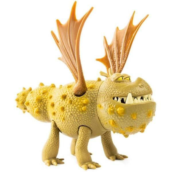 DreamWorks Dragons Как приручить дракона 3 громель сарделька 20103626 The Hidden World Gronckle