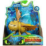 DreamWorks Dragons Как приручить дракона 3 громель сарделька 20103626 The Hidden World Gronckle, фото 2