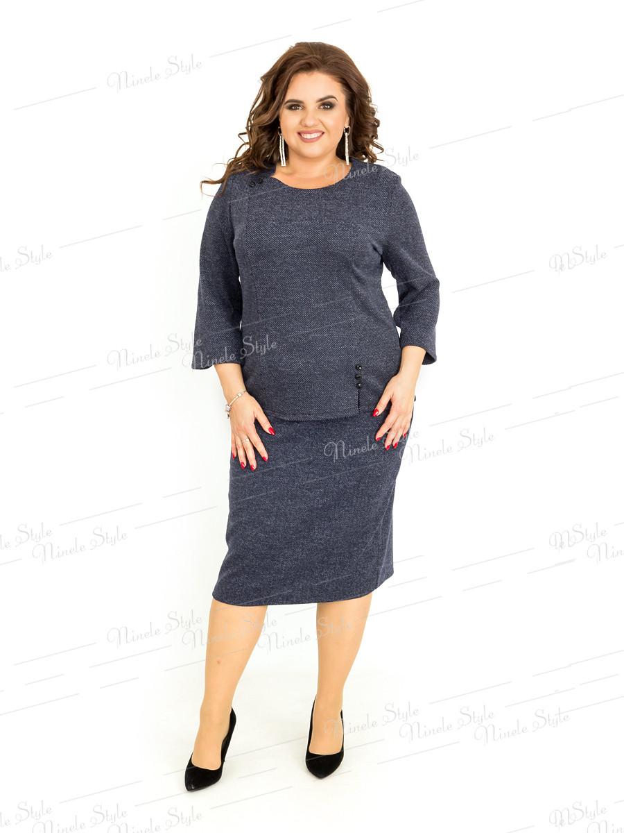 Деловой женский костюм 392-2 54