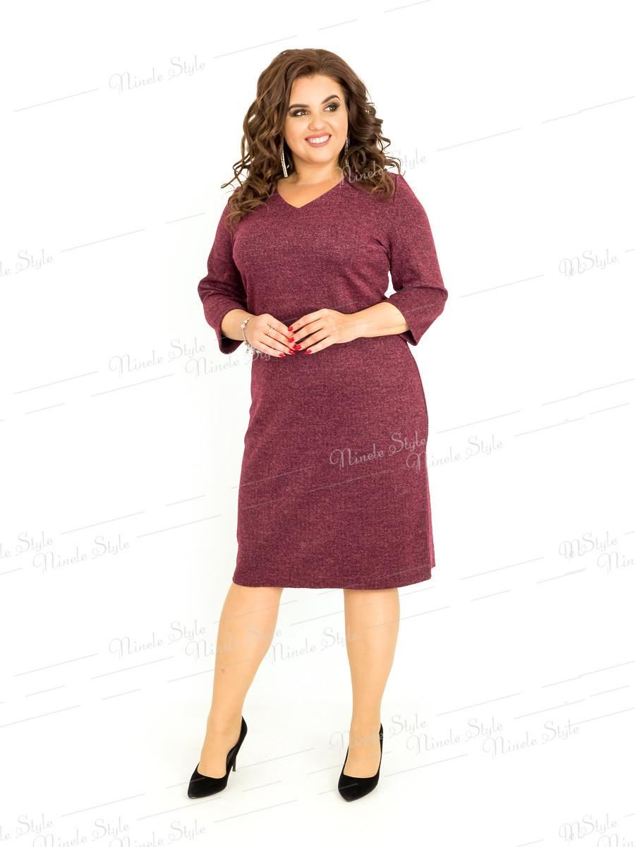 Платье женское деловое, повседневное 393 54