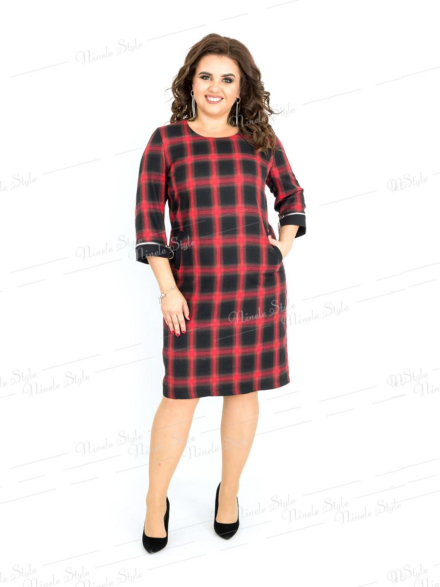 Деловое женское платье 394-2 54