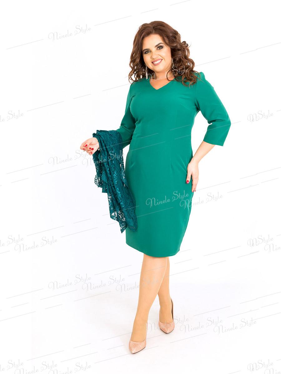 Платье женское с накидкой 389-3 56