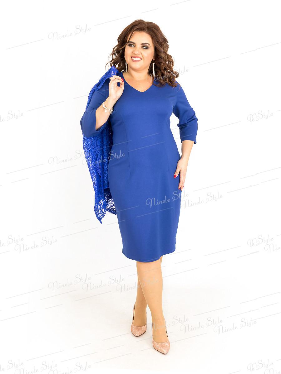 Платье женское с накидкой 389-4 56