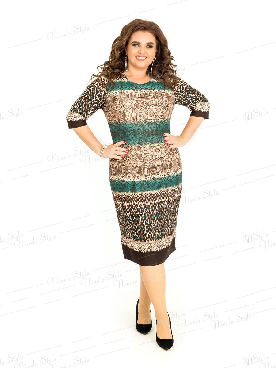 Повседневное деловое женское платье  397 54