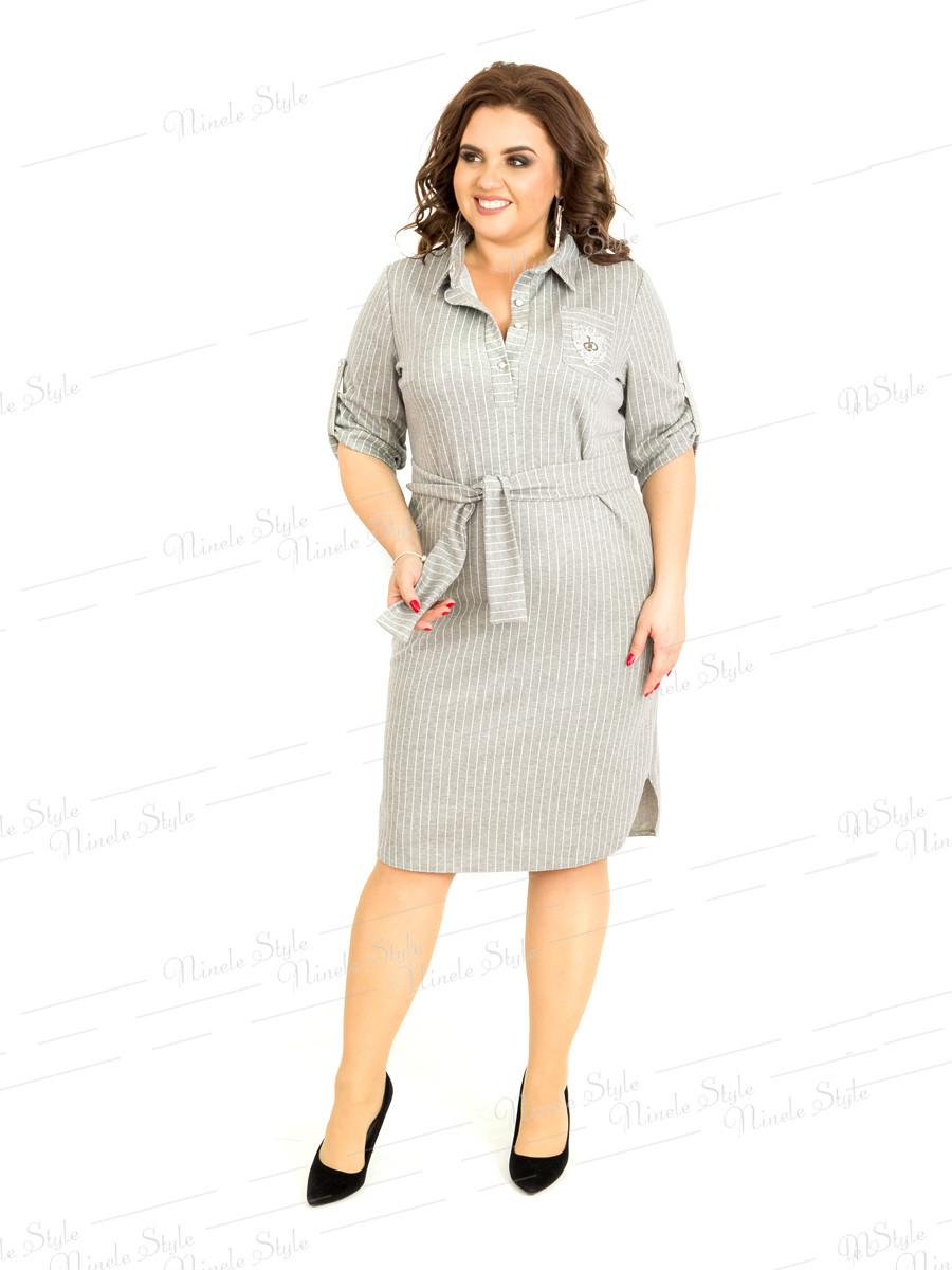 Платье-рубашка женское в полоску 399-2 54