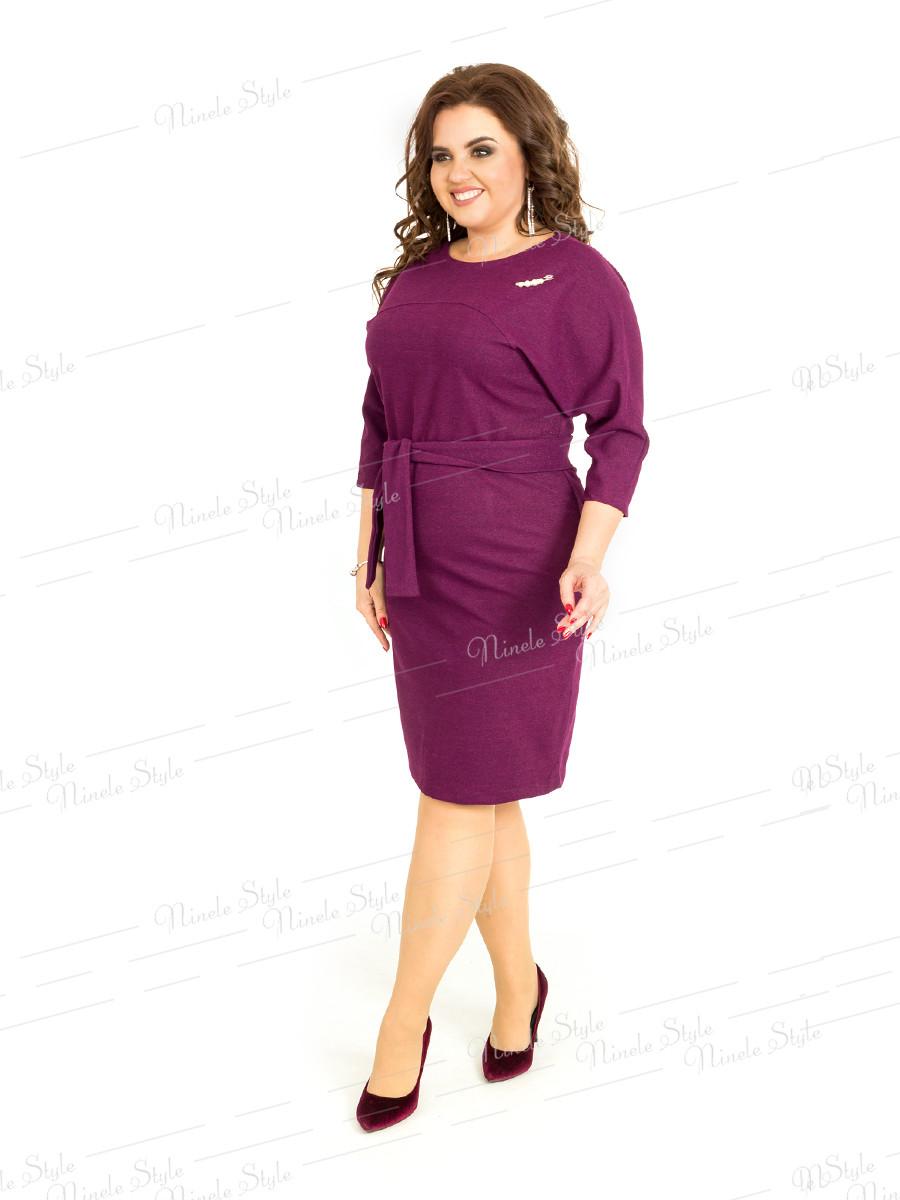 Деловое женское платье 400 54