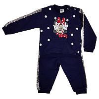 Костюм для девочки штаны и кофта Минни 68-80 (3 - 12 месяцев) арт.19595                             , фото 1