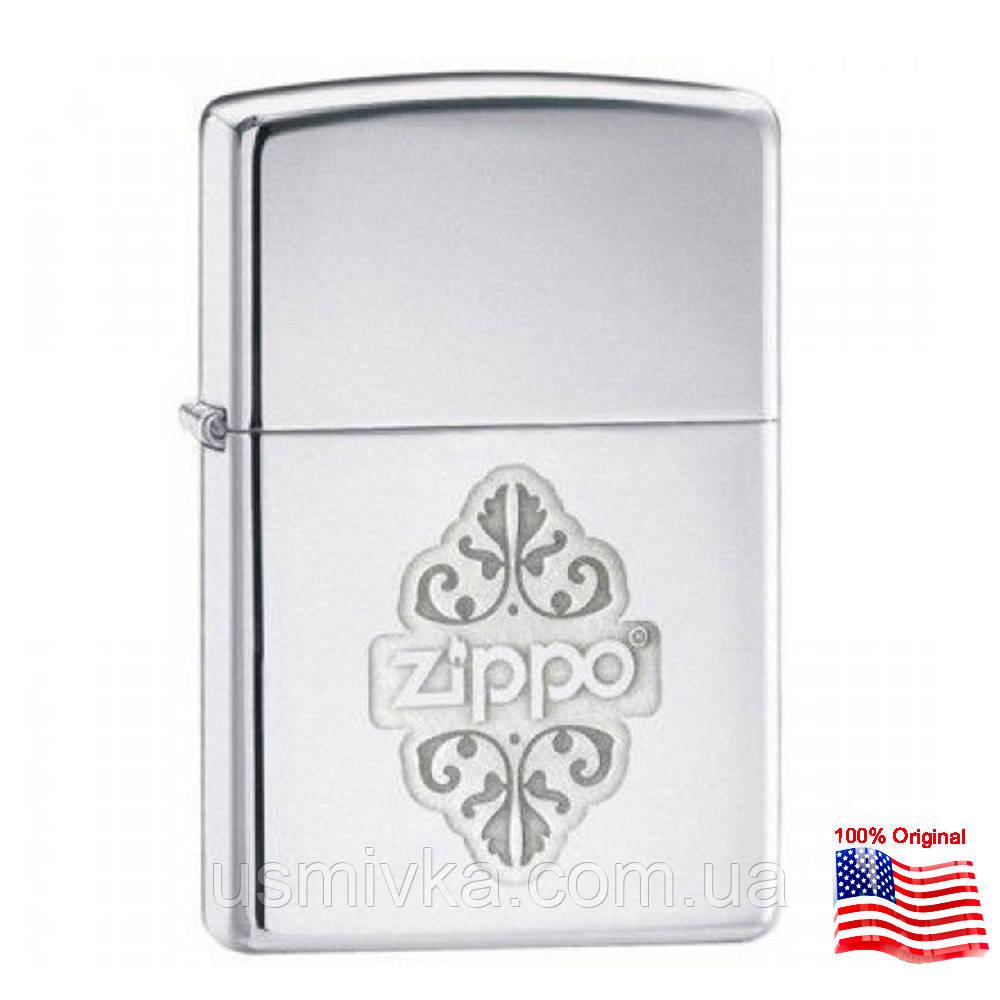 Зажигалка Zippo 24803 FILIGREE серая 24803