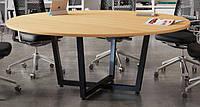 Стол для переговоров Loft Design D2000 Дуб Борас (0048-2)