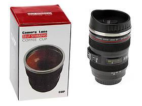 Кружка-мешалка в виде объектива Camera Lens, фото 3
