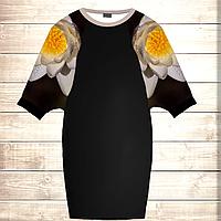 Умное платье с 3D принтом Нарцисс