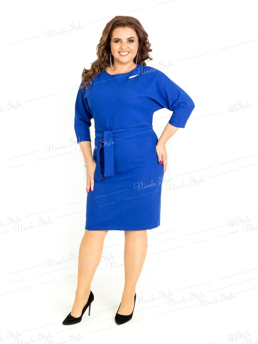Деловое женское платье  400-2 54