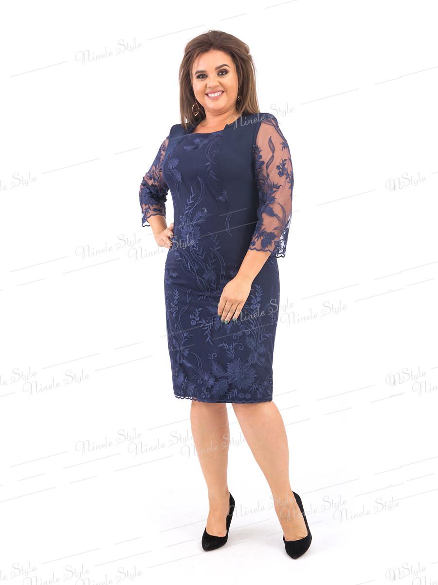 Нарядное женское платье  385-3 54