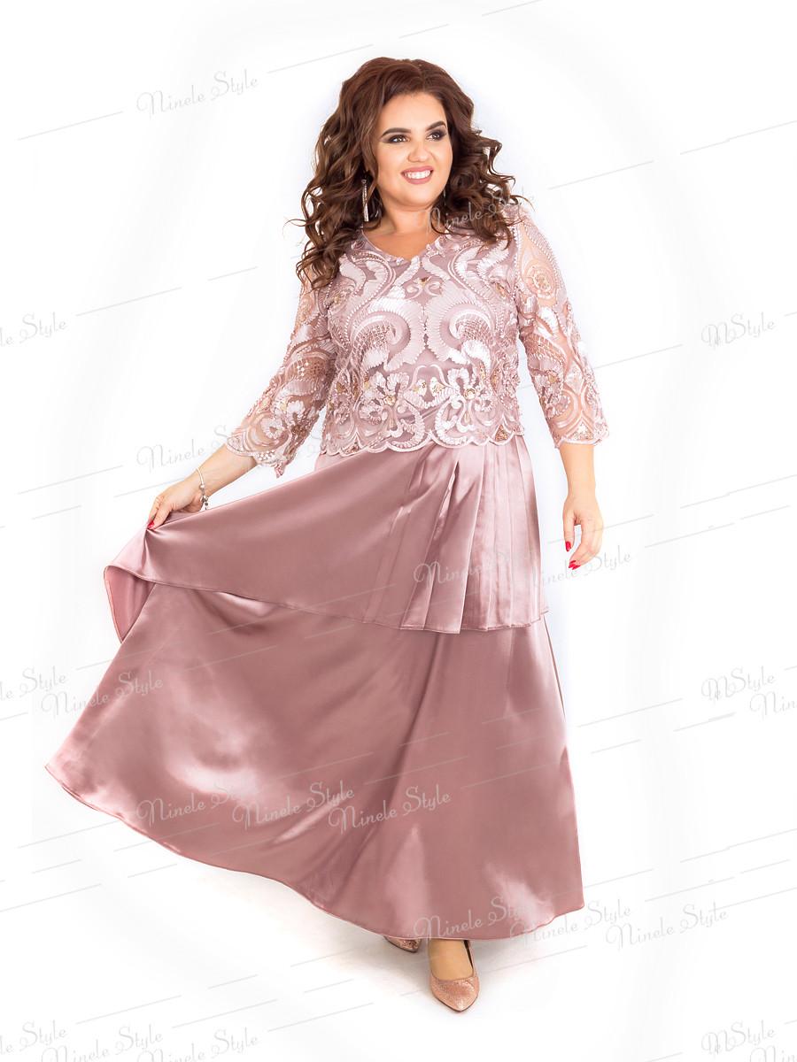 Вечернее женское платье 390-1 54