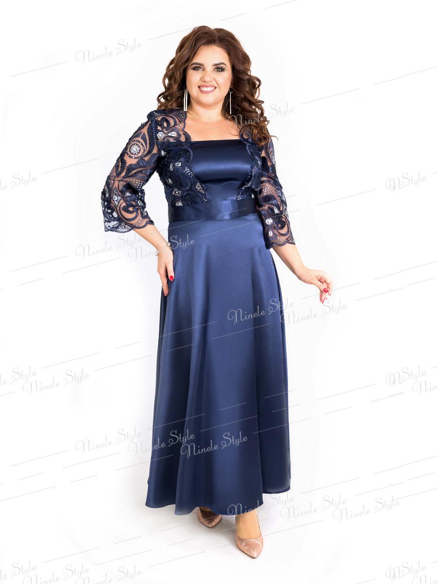 Вечернее женское платье 391-1 54