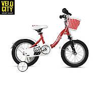 """Велосипед детский RoyalBaby Chipmunk MM Girls 14"""", красный, фото 1"""