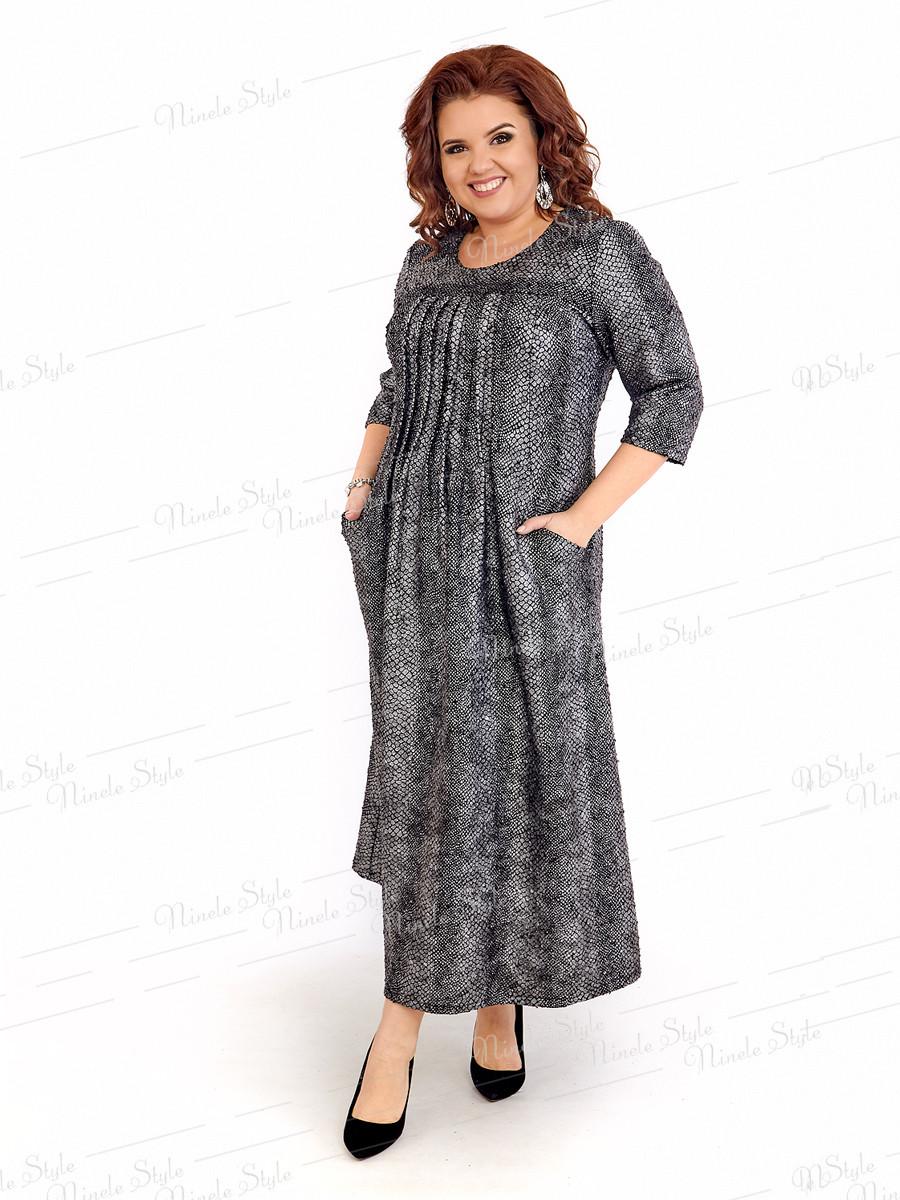 Повседневное женское платье в стиле Бохо 403-1 54