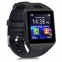 Умные смарт часы с сим-картой Smart DZ09 UWatch Black 130393
