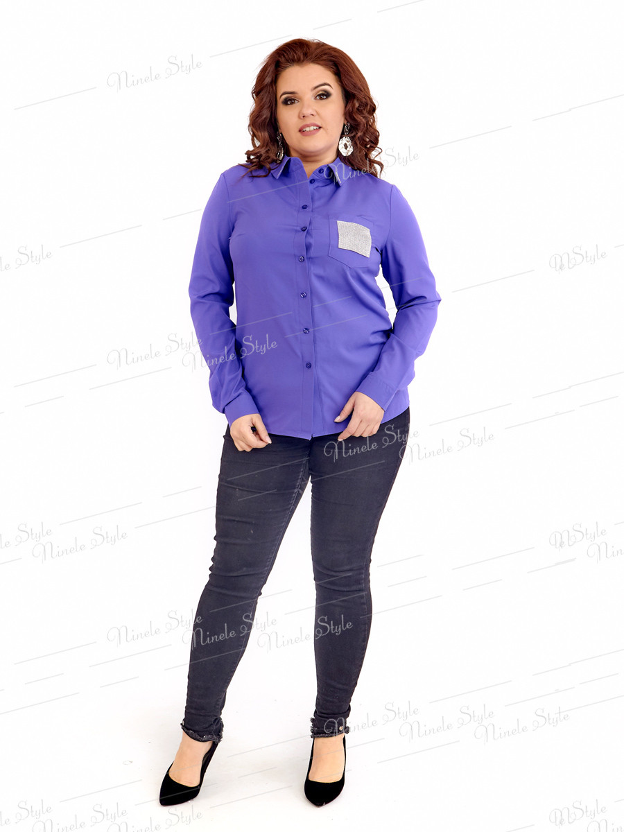 Нарядная женская блузка 414-2 52