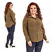 Классическая женская блузка 415-1 52, фото 4