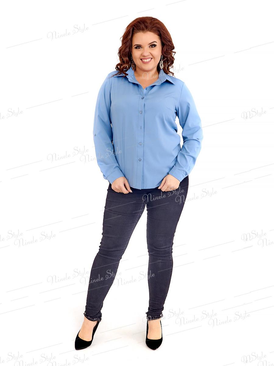 Классическая женская блузка 415-3 52