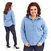 Классическая женская блузка 415-3 52, фото 4