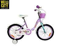 """Велосипед детский RoyalBaby Chipmunk MM Girls 14"""", фиолетовый, фото 1"""