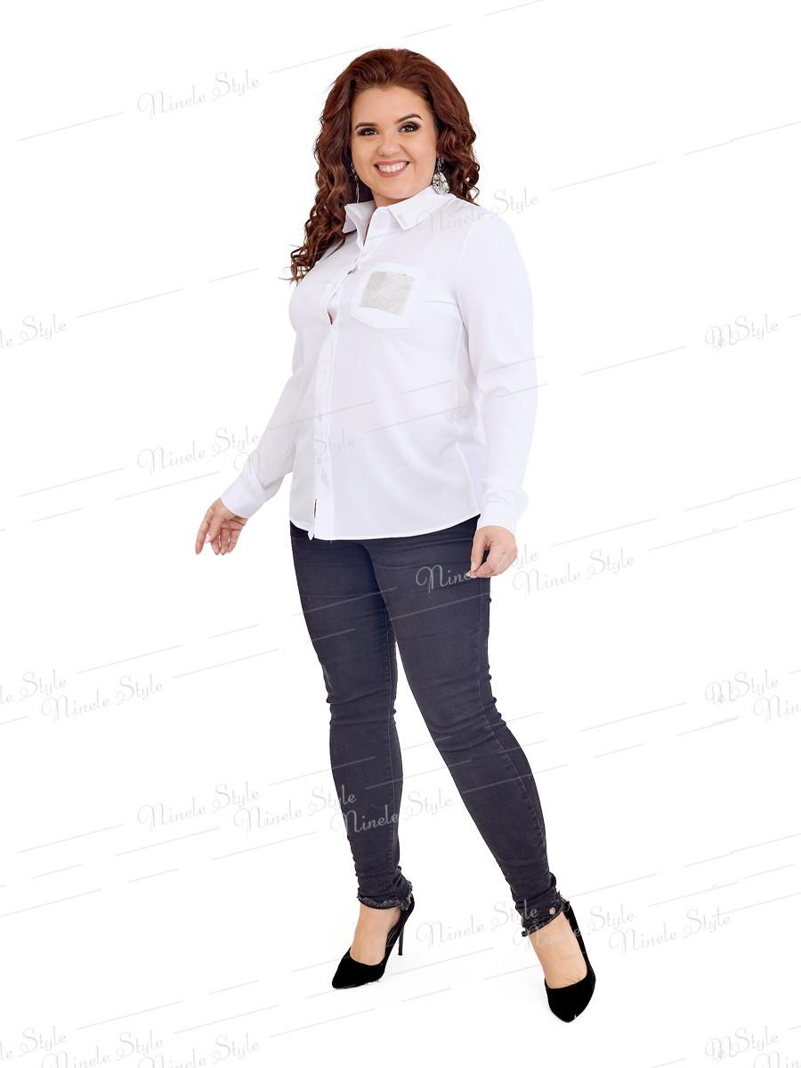 Классическая женская блузка 415-8 52