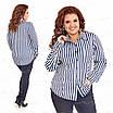 Классическая женская блузка 415-9 52, фото 4