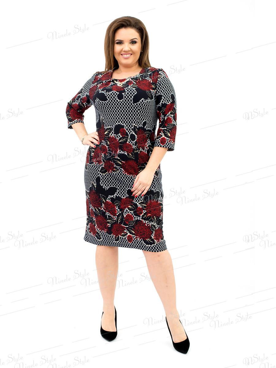 Повседневное  женское платье 172-1 54