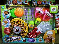 Детский Игровой Кулинарный Набор Кухня Seven Star Toys 551-10C Пицца и Столовые Приборы