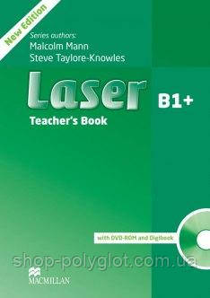 Laser 3rd Edition B1+ Teacher's Book with DVD-ROM and Digibook